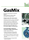 Mixing System For Anaerobic Digesters GasMix Brochure