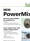 Dry-Installed Mixer (300 RPM) PowerMix POPTR-I Brochure