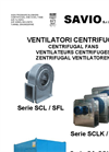 SCL - SCLK Series Centrifugal Fans Brochure