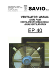 EP 40 Series Axial Fans Brochure