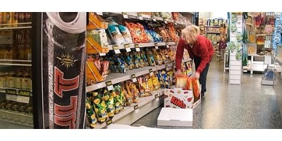 Balers and compactor solutions for retail food industry
