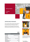 X10 - X Series - Vertical Balers – Brochure