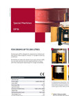Bramidan - DP16 - Special Machines - Brochure