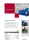 Bramidan - Model CTA - Tipping and Emptying Standard Plastic Containers - Brochure