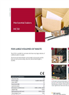 Bramidan - Model HC50 - Horizontal Balers - Brochure