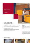 Bramidan - Model B5 Wide - Vertical Balers - Brochure