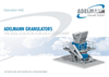 Model ANZ - Granulator Brochure