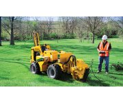 New Vermeer service plow with trencher right pick for tight spaces