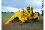 COMMANDER - T858 - 3 Offset Track Trencher with Optional Features