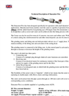 DC-Flex - Sewer Pipe Cleaning Robots - Technical Description