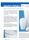 SNAP-Ring - Sewn Construction Filter Bags - Datasheet