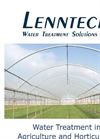 Water treatment solutions for the agriculture & horticulture industries - Brochure