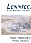 Water Treatment in Mining Industry - Brochure