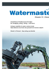 Watermaster - Model Classic IV - Classic V - Amphibious Multipurpose Dredger Brochure