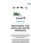 Machinery for Shallow Water Dredging - Brochure