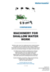 Machinery for Shallow Water Work - Brochure