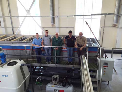 Anaconda® DAF System commissioning in Moscow