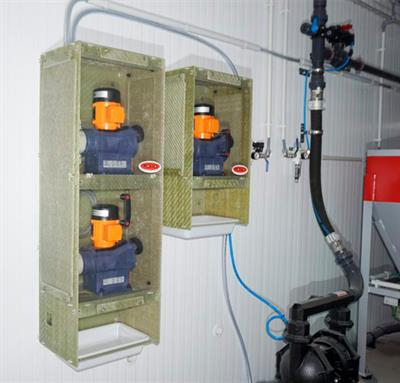 New Showcases for Dossing Pumps manufactured by Toro Equipment