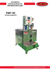 Model PAP-3C - Automatic Polyelectrolyte Preparation Plant - Brochure