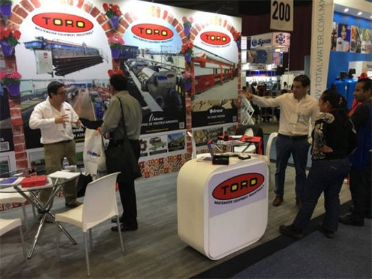 Thank all the visitors in Aquatech Mexico 2018