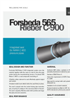Forsheda 565 - Model 565 Rieber - C-900 - Sealing Systems for Potable Water Pipes - Datasheet