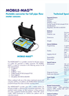 Mobile-Mag - Portable Converter for Full Pipe Flowmeter Sensors - Technical Specifications