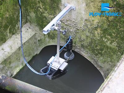 Flow-Tronic - Model RAVEN-EYE - Non-Contact Radar Flow Meter