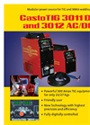 CastoTIG 3011 AC and 3012 AC/DC Brochure