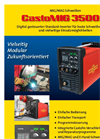 CastoMIG 3500 C Digital Controlled Standard-Inverters Brochure (In German)