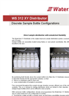 WS 312 XY Distributor - Discrete Sample Bottle Configurations Datasheet