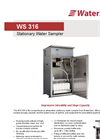 Model WS 316 - Stationary Water Sampler Datasheet