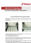 WS 316 XY Distributor - Discrete Sample Bottle Configurations Datasheet