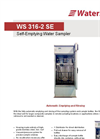 WS 316-2 SE - Self-Emptying Water Sampler Datasheet