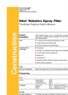 Epoxy SIKA - Filler Brochure