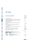 pH::lyser - Electrochemical Sensor Brochure