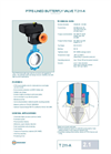 T 211-A - Wafer Type Butterfly Valve – Datasheet
