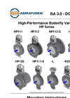 Model HP Series - High-Performance Butterfly Valves - Manual
