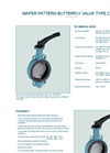 Type Z 011-A- Wafer Pattern Butterfly Valve - Brochure - Datasheet