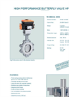 Model HP 114-C - High Performance Butterfly Valve - Datasheet