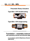 Type EBx.1 SYD - Double-Acting - Pneumatic Rotary Actuators - Brochure
