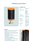 Model EC - Pneumatic Linear Actuator - Datasheet