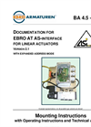 EBRO at AS-Interface for Linear Actuators - Manual