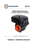 EBRO Module System for Electric Quarter-Turn Actuators - Manual