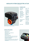 Modular System for Electric Actuators - Datasheet
