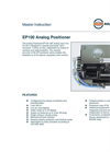 Model EP 100 - Analog Positioner - Datasheet