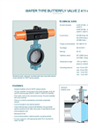 Model Z 411-A - Wafer Type Butterfly Valve - Datasheet