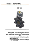 Model HP 300 - High Performance Butterfly Valve - Manual
