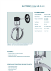 Model Q 011 - Safety Valve - Datasheet