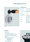 Model FS-M - Impeller Valve - Operating Instructions Manual
