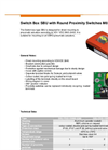 M8 Type SBU - Switch Box with Round Proximity Switches - Datasheet